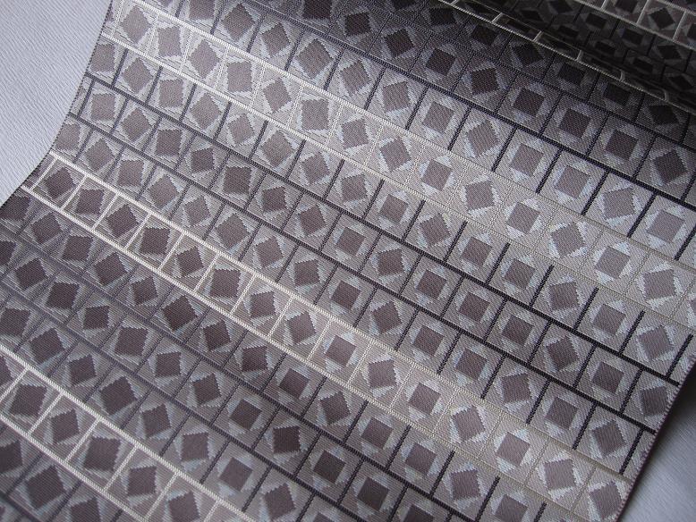 紋八寸なごや帯「メカニカル2」